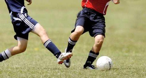 Tackling beim Fußball