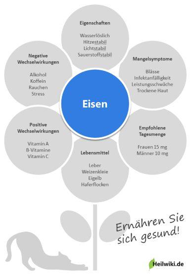 Eisen Infografik