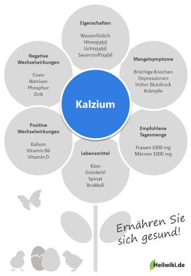 Kalzium Infografik