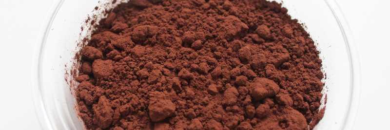 Mineralstoff Kupfer: Kakaopulver