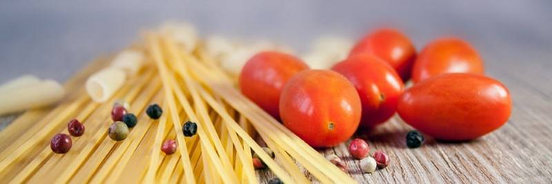 Vitamine: Pasta mit Tomaten