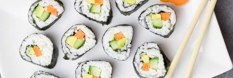 Vitamin B12: Sushi
