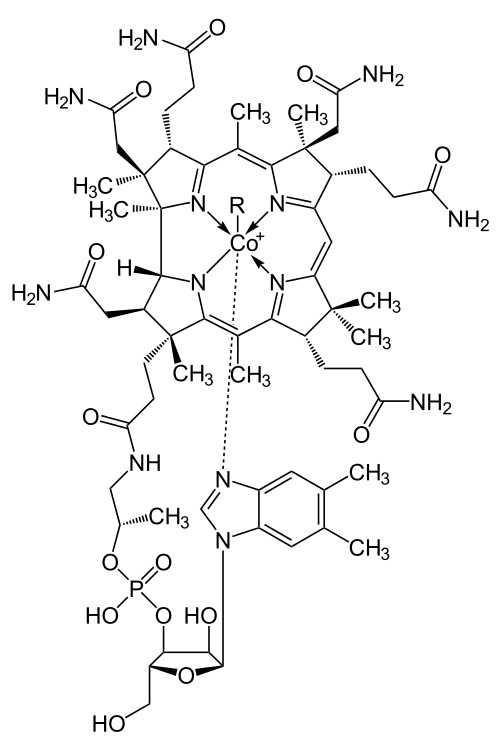 Vitamin B12: Formel
