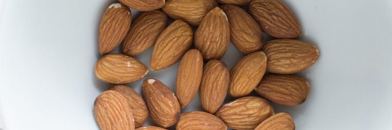 Vitamin B2: Mandeln