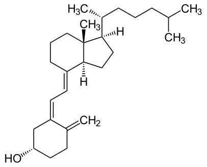 Vitamin D: Formel