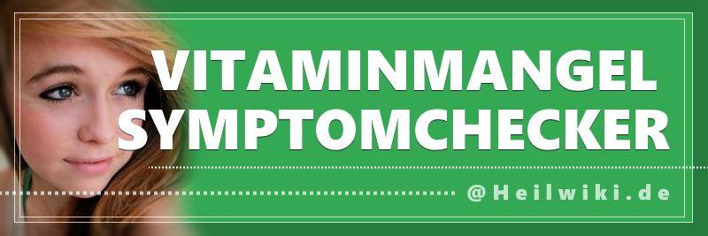 Selbsttest: Vitaminmangel Symptomchecker